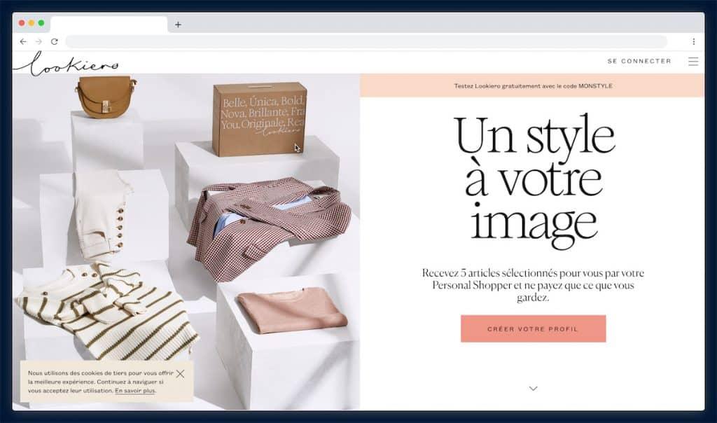 Lookiero : La location vêtement pour des looks uniques à adopter