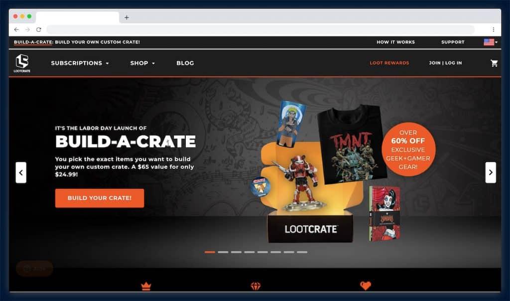 Lootcrate : un abonnement pour ne rien louper de la pop culture