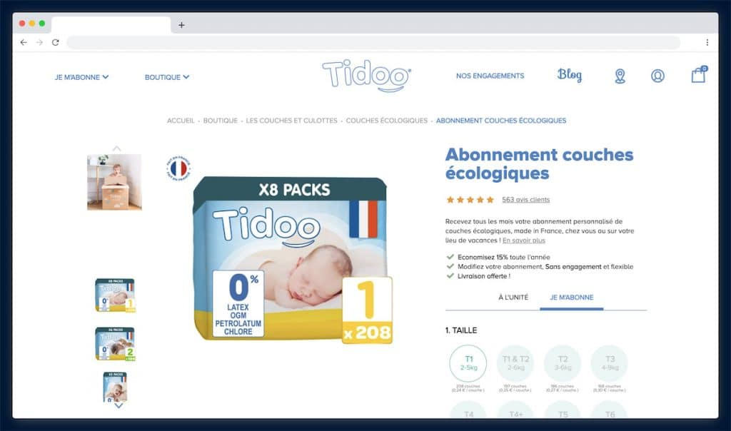 Tidoo, la marque plébiscitée