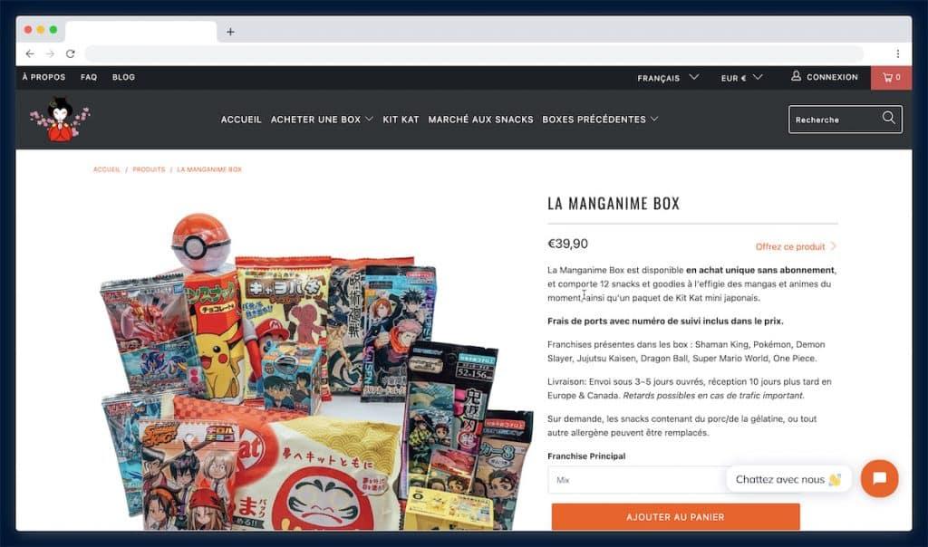 Tokyosnackbox : la box des gourmands fans de la culture japonaise