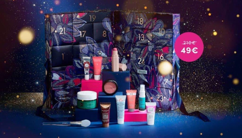 Blissim: chouchoutez votre peau avec le calendrier de l'avent Christmas Nights