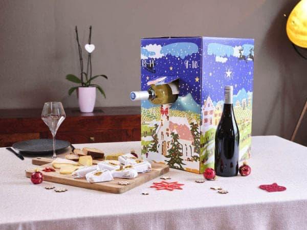 La Boîte du Fromager: le calendrier de l'avent du vin